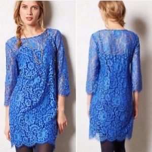 Anthropologie HD in Paris lace Overture dress